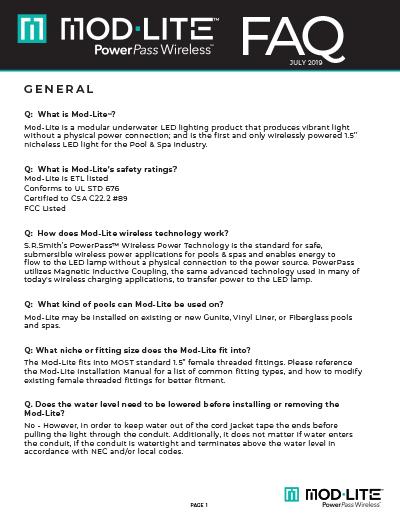 mod-lite FAQ