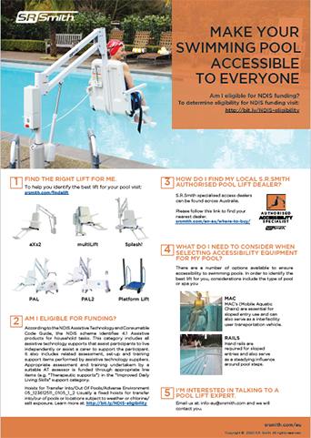 S.R.Smith Pool Lift Resources